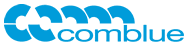 logo comblue digital agency